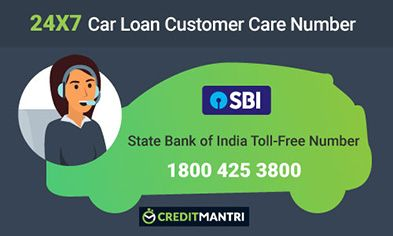 Sbi Car Loan Card Customer Care Number 24x7 Toll Free