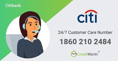 Citibank Credit Card Customer Care Number: 24x7