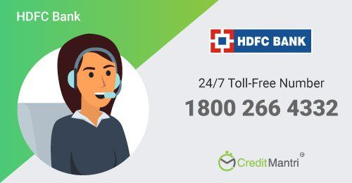 Hdfc Bank Credit Card Customer Care Number 24x7