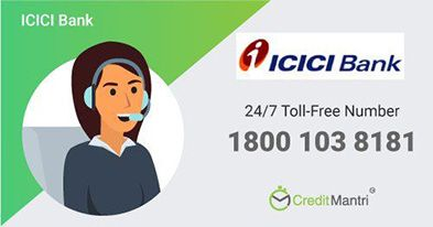 ICICI Bank Credit Card Customer Care Number: 24x7