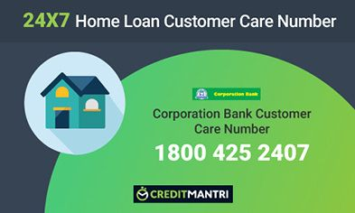 Corporation Bank Home Loan Customer Care Number
