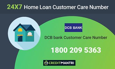 DCB Bank Home Loan Customer Care Number
