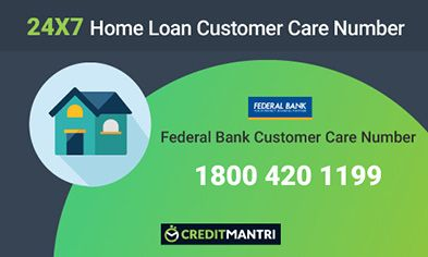 Federal Bank Home Loan Customer Care Number