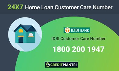 IDBI Bank Home Loan Customer Care Number
