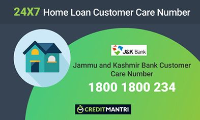 Jammu and Kashmir Bank Home Loan Customer Care Number