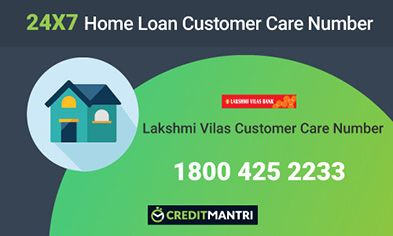 Lakshmi Vilas Bank Home Loan Customer Care Number