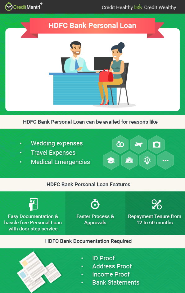 HDFC Bank Personal Loan @ 10 99% * - Apply Online for