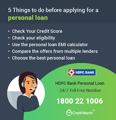 hdfc personal loan customer care number coimbatore