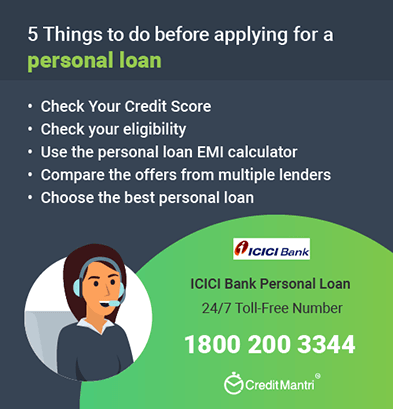 Icici Bank Personal Loan Customer Care Number 24x7